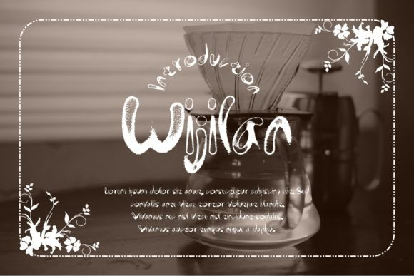 Download Free Wijilan Font By Gblack Id Creative Fabrica for Cricut Explore, Silhouette and other cutting machines.