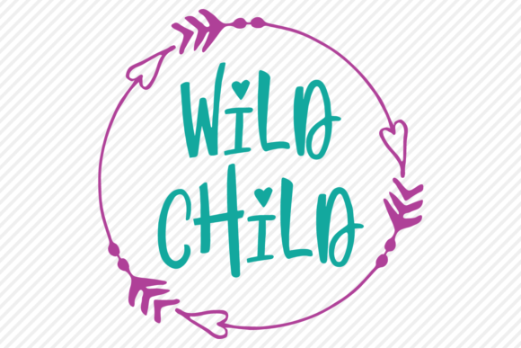 Download Free Wild Child Outdoor Shirt Design Graphic By Texassoutherncuts for Cricut Explore, Silhouette and other cutting machines.