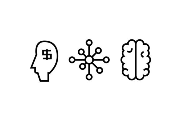 Science Black and White Line Icon Graphic Icons By muhammadfaisal40