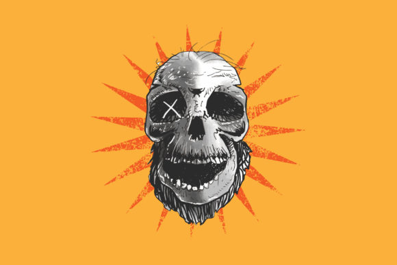 Skull 6 Graphic By Vtks Design Creative Fabrica