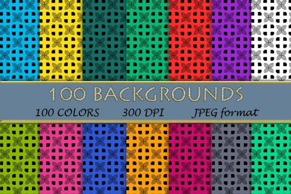Download Free 100 Stars Clip Art Colorful Stars Graphic By Sweetdesign for Cricut Explore, Silhouette and other cutting machines.
