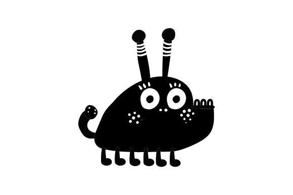 Cute Monster Designs & Drawings Craft Cut File By Creative Fabrica Crafts - Image 2