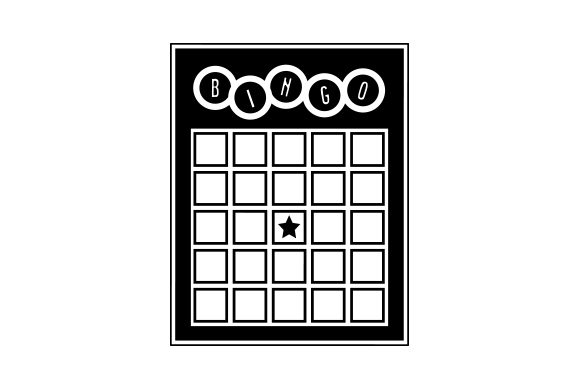Download Free Bingo Card Svg Cut File By Creative Fabrica Crafts Creative for Cricut Explore, Silhouette and other cutting machines.