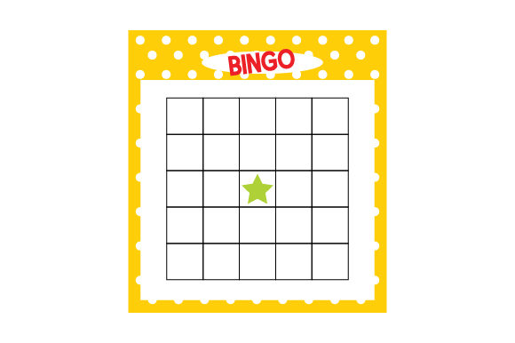 Download Free Bingo Card Svg Cut File By Creative Fabrica Crafts Creative Fabrica for Cricut Explore, Silhouette and other cutting machines.