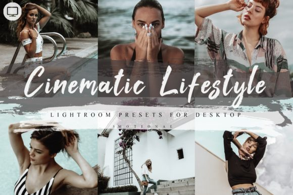 Download Free 5 Cinematic Lifestyle Lightroom Presets Graphic By 3motional for Cricut Explore, Silhouette and other cutting machines.