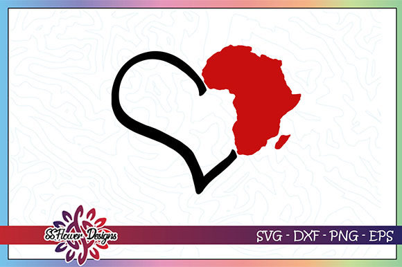 Download Free Africa Heart Black Lives Matter Graphic By Ssflower Creative SVG Cut Files