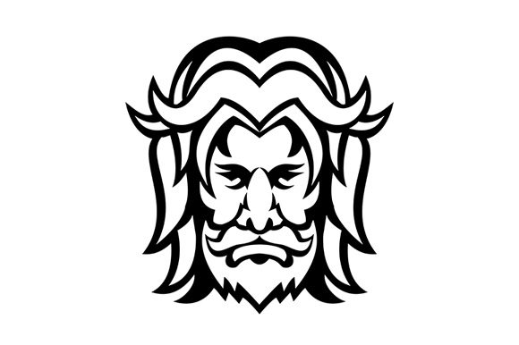 Download Free Baldr Balder Or Baldur Norse God Front Graphic By Patrimonio for Cricut Explore, Silhouette and other cutting machines.