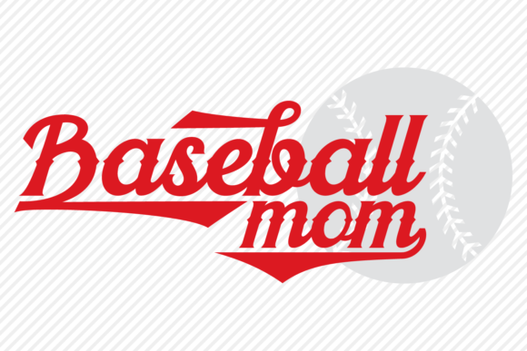 Download Free Baseball Mom Sports Shirt Design Graphic By Texassoutherncuts for Cricut Explore, Silhouette and other cutting machines.