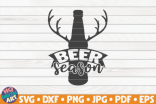 Download Free Beer Season Beer Quote Graphic By Mihaibadea95 Creative Fabrica for Cricut Explore, Silhouette and other cutting machines.