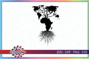 Download Free Black Lives Matter Africa Roots Graphic By Ssflower Creative for Cricut Explore, Silhouette and other cutting machines.