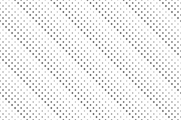 Download Free Black And White Seamless Star Background Graphic By Davidzydd for Cricut Explore, Silhouette and other cutting machines.