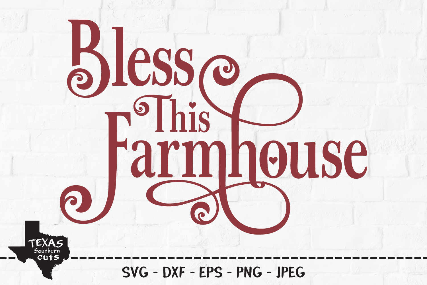 Bless This Farmhouse Country Design Graphic By Texassoutherncuts Creative Fabrica