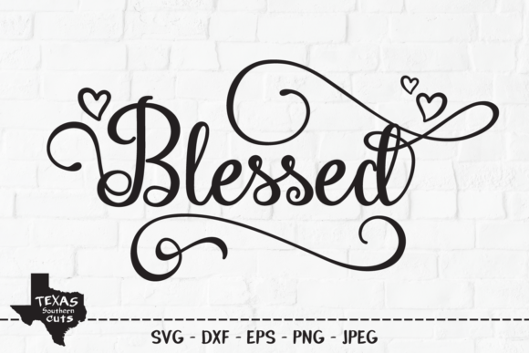 Download Free Blessed Christian Shirt Design Graphic By Texassoutherncuts for Cricut Explore, Silhouette and other cutting machines.