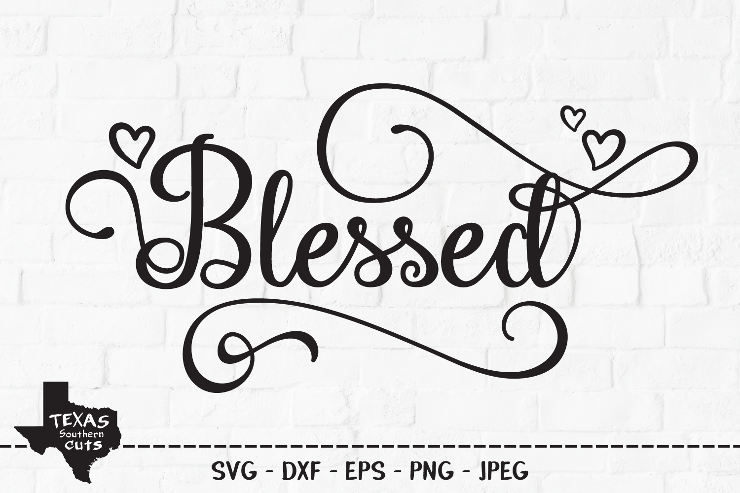 Download Free Blessed Christian Shirt Design Graphic By Texassoutherncuts SVG Cut Files