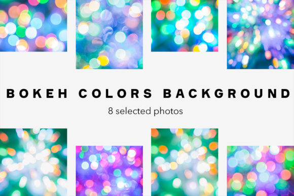 Download Free Bokeh Colors Background Bundle 8 Photos Graphic By for Cricut Explore, Silhouette and other cutting machines.