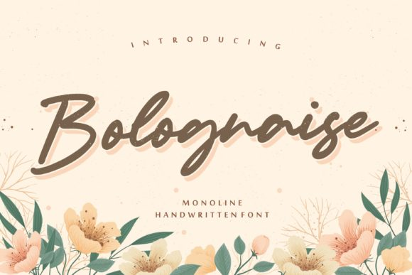 Print on Demand: Bolognaise Script & Handwritten Font By Balpirick