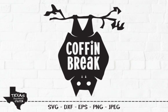 Download Free Coffin Break Halloween Shirt Design Graphic By for Cricut Explore, Silhouette and other cutting machines.