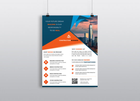 Corporate Business Flyer Template Vol 21 Graphic By Imagine