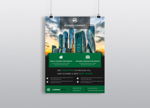 Download Free Corporate Business Flyer Template Vol 35 Graphic By Imagine for Cricut Explore, Silhouette and other cutting machines.