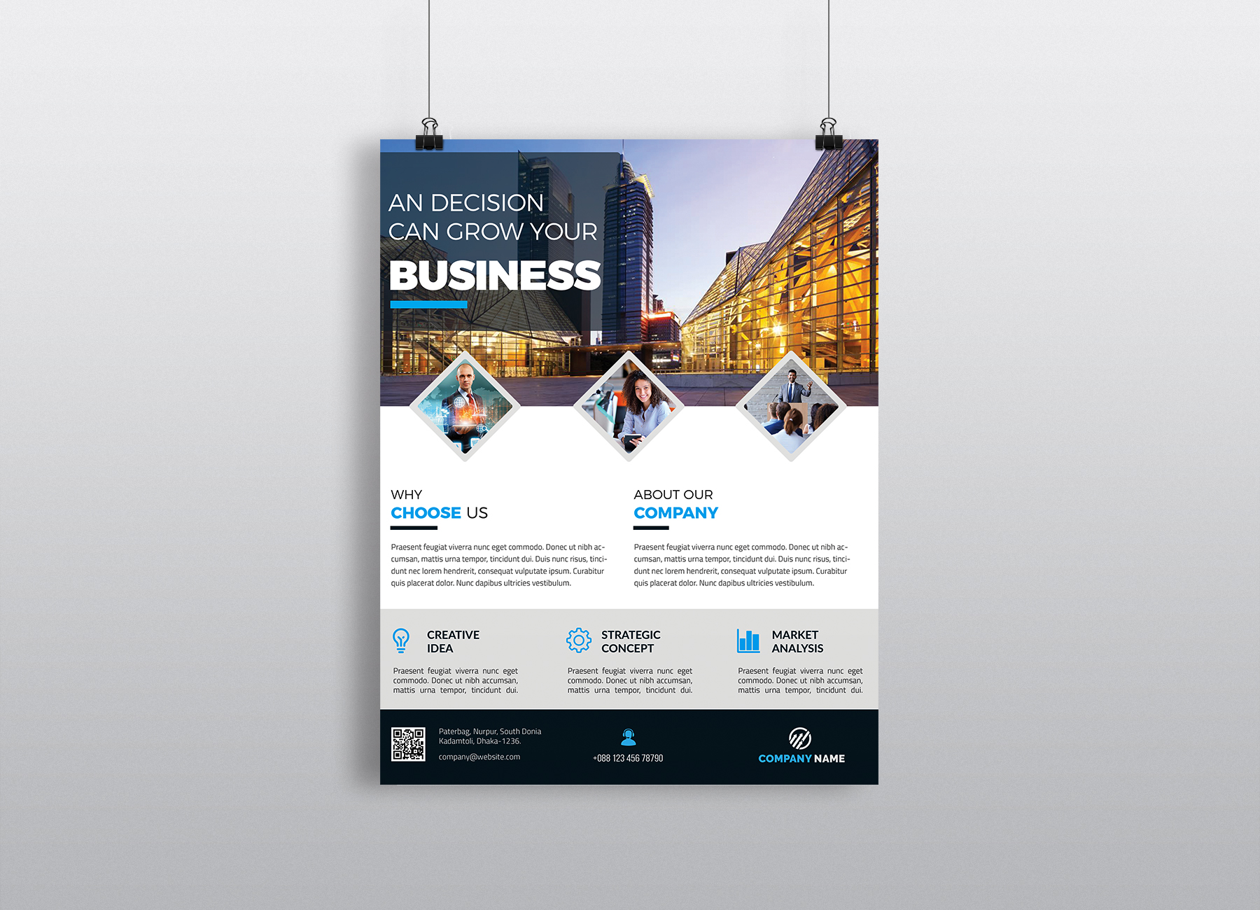 Corporate Business Flyer Template Vol 42 Graphic By Imagine
