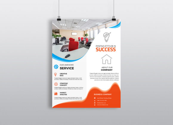 Corporate Business Flyer Template Vol 31 Graphic By Imagine