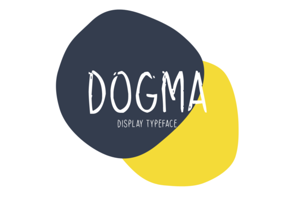 Print on Demand: Dogma Display Font By Seemly Fonts