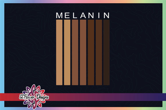 Download Free Dripping Melanin Graphic By Ssflower Creative Fabrica for Cricut Explore, Silhouette and other cutting machines.