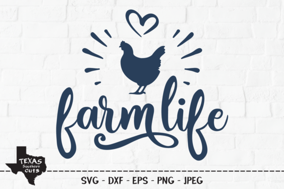 Print on Demand: Farm Life - Country Design Graphic Crafts By texassoutherncuts