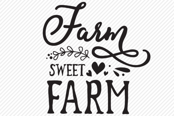 Download Free Farm Sweet Farm Country Shirt Design Graphic By for Cricut Explore, Silhouette and other cutting machines.