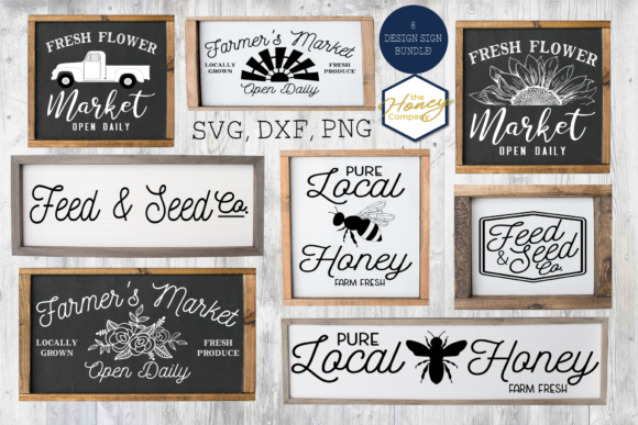 Farmhouse Sign Making Bundle  Graphic Crafts By The Honey Company