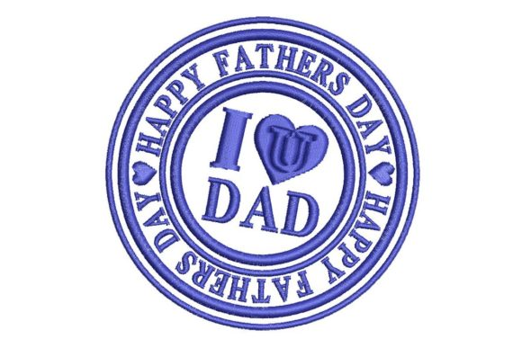 Download Free Father S Day I Love U Dad Creative Fabrica for Cricut Explore, Silhouette and other cutting machines.