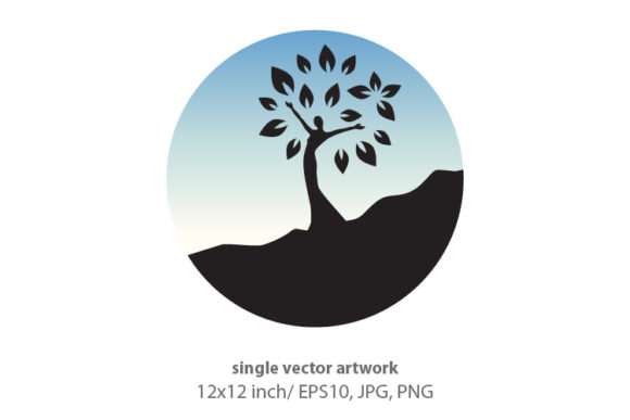 Download Free Female Tree Graphic By Biljanacvetanovic Creative Fabrica for Cricut Explore, Silhouette and other cutting machines.