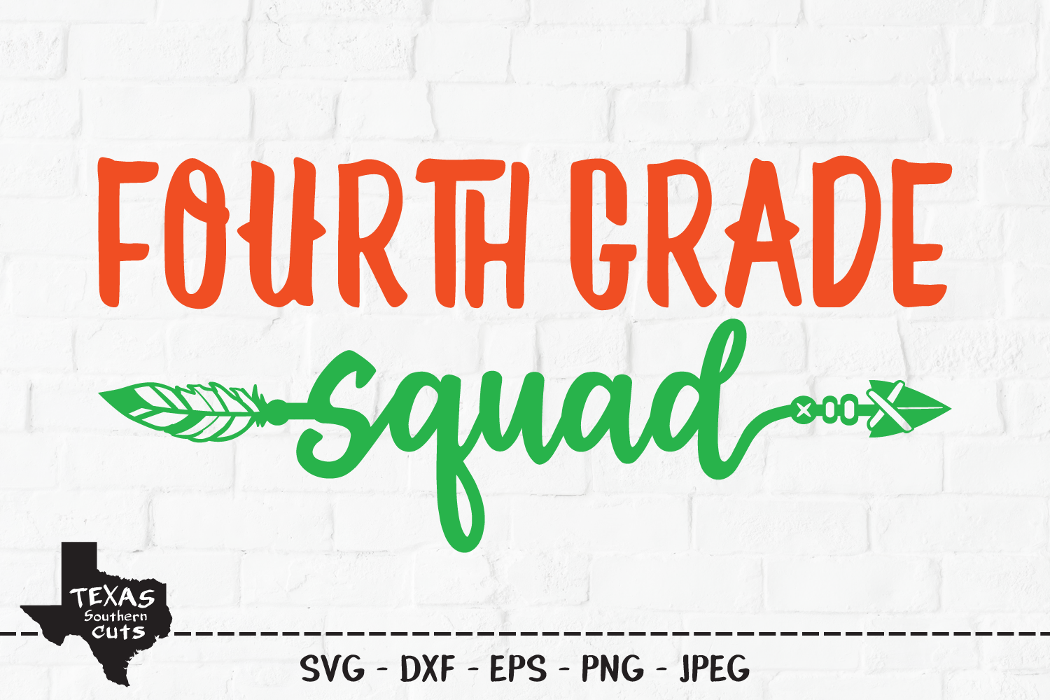 Download Free Fourth Grade School Shirt Design Graphic By Texassoutherncuts for Cricut Explore, Silhouette and other cutting machines.