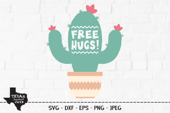 Download Free 1 Desert Cacti Designs Graphics for Cricut Explore, Silhouette and other cutting machines.