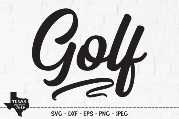 Print on Demand: Golf - Golfing Shirt Design Graphic Crafts By texassoutherncuts