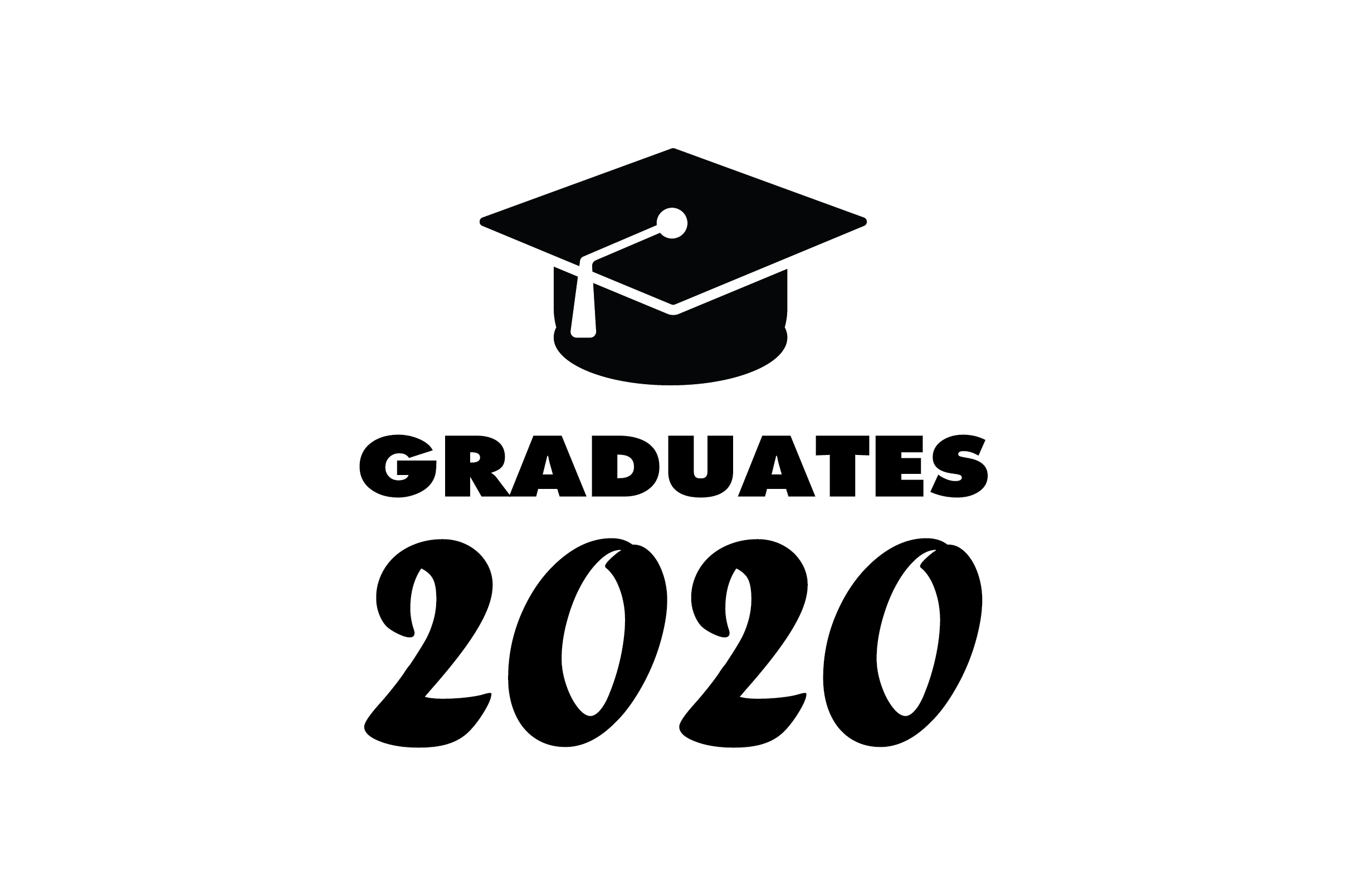 Download Free Graduates 2020 Graphic By Fauzidea Creative Fabrica for Cricut Explore, Silhouette and other cutting machines.