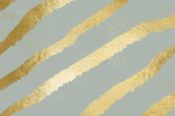 Print on Demand: Gray and Gold Striped Background Graphic Backgrounds By AM Digital Designs