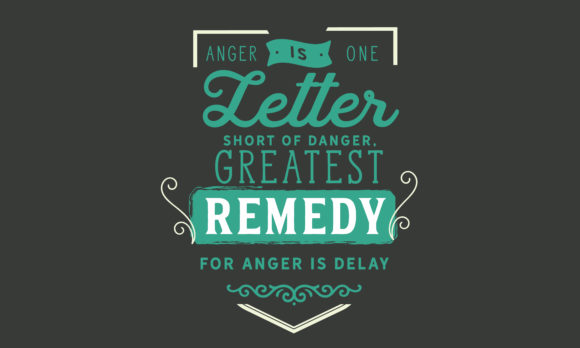 Print on Demand: Greatest Remedy for Anger is Delay Graphic Illustrations By baraeiji