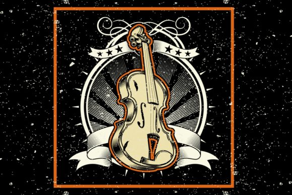 Download Free Grunge Style The Classical Music Concept Graphic By Epic Graphic for Cricut Explore, Silhouette and other cutting machines.