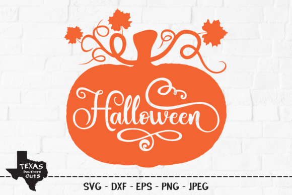 Download Free Halloween Pumpkin Design Graphic By Texassoutherncuts Creative SVG Cut Files