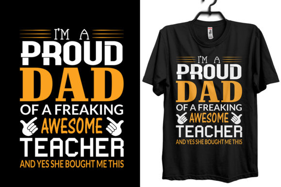 Download Free Happy Father S Day Dad T Shirt Design Graphic By Storm Brain for Cricut Explore, Silhouette and other cutting machines.