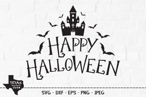 Download Free Happy Halloween Halloween Shirt Design Graphic By for Cricut Explore, Silhouette and other cutting machines.
