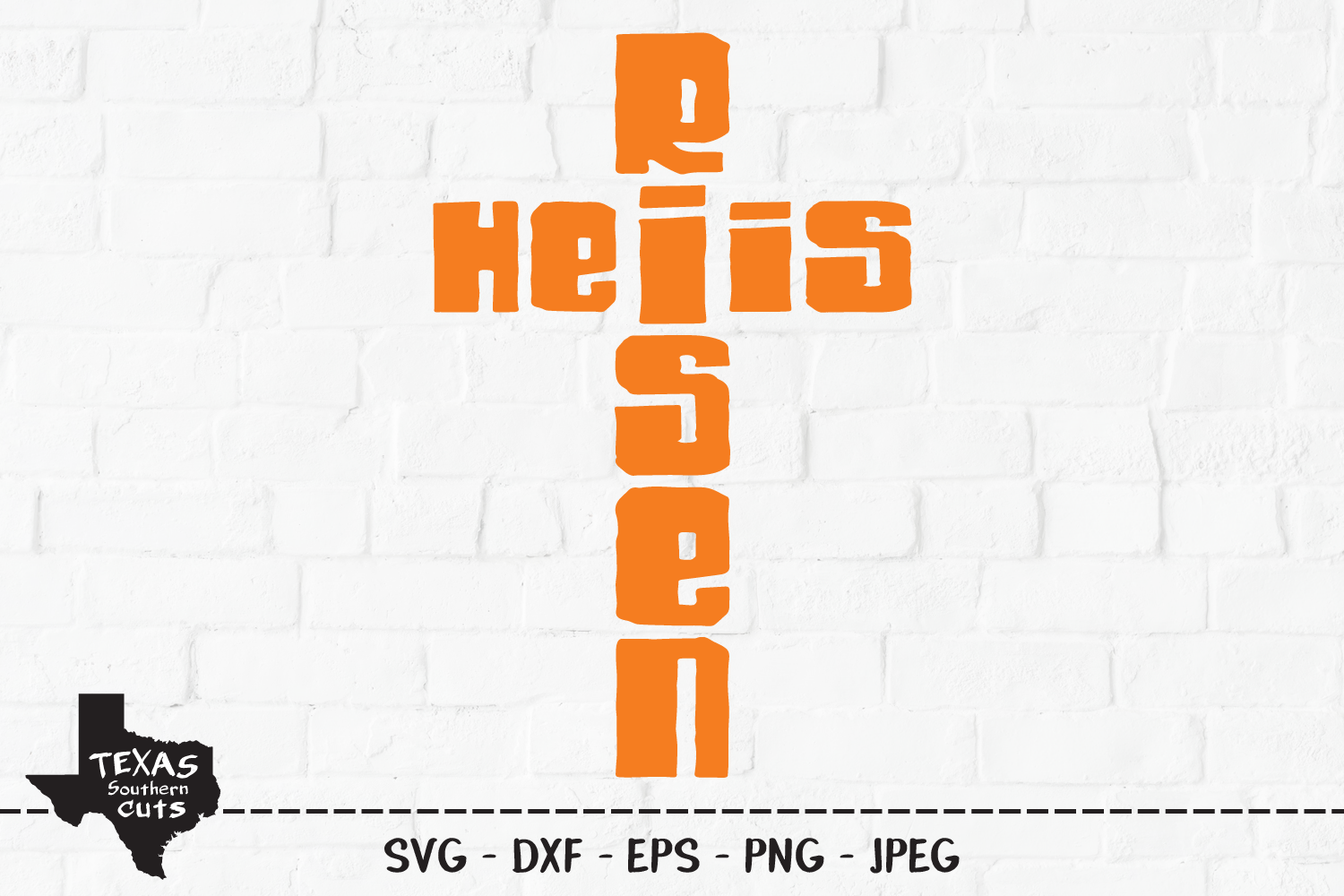 Download Free He Is Risen Christian Shirt Design Graphic By for Cricut Explore, Silhouette and other cutting machines.