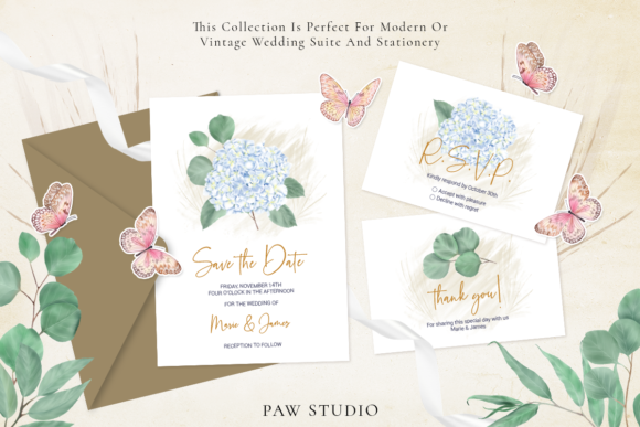 Download Free Hydrangeas Roses Calla Rustic Clipart Graphic By Pawstudio for Cricut Explore, Silhouette and other cutting machines.