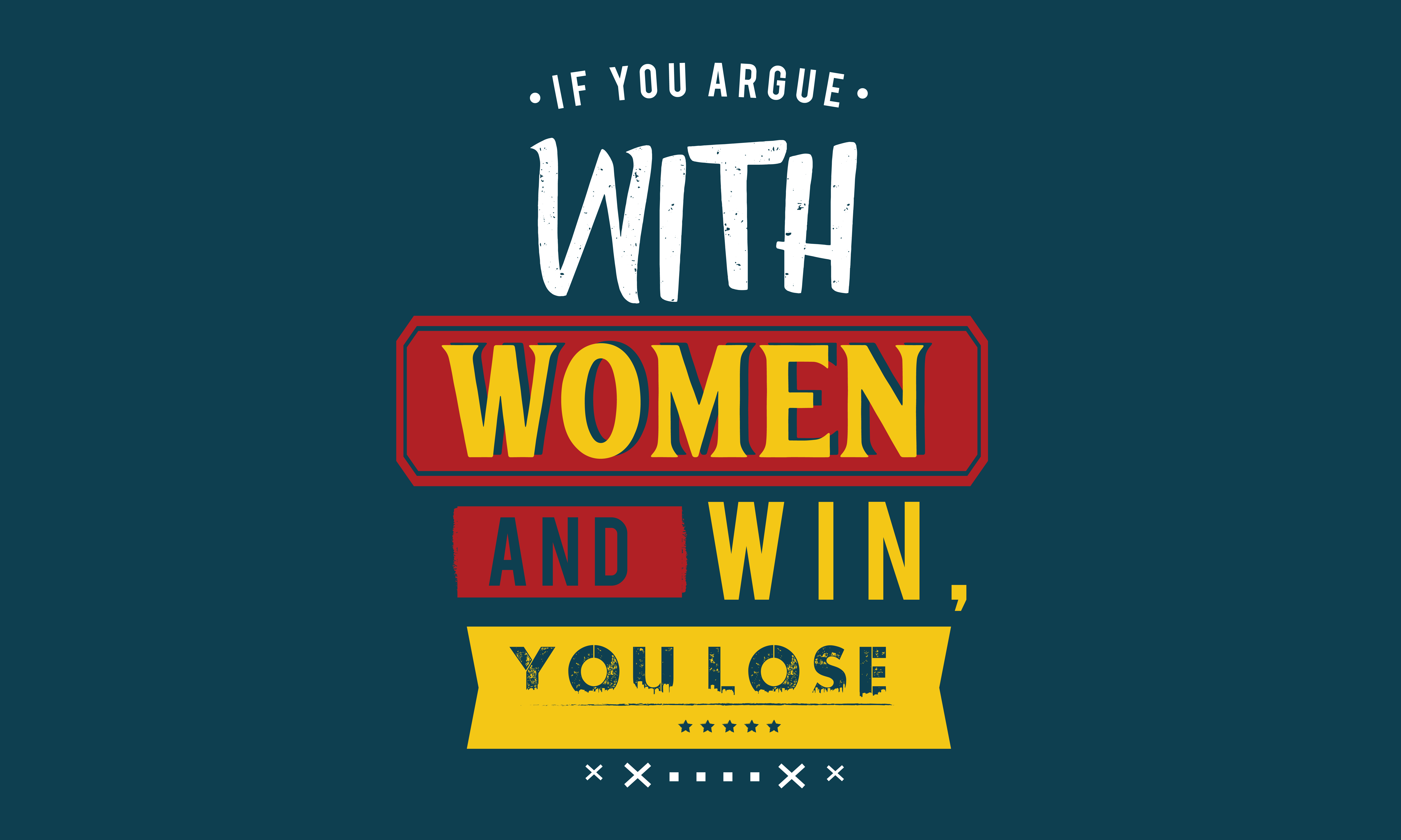 Download Free If You Argue Graphic By Baraeiji Creative Fabrica SVG Cut Files