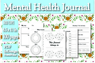 Print on Demand: KDP Interior Mental Health Journal Graphic KDP Interiors By Ivana Prue
