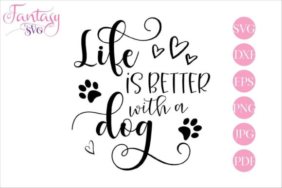 Download Free 1 With A Dog Designs Graphics for Cricut Explore, Silhouette and other cutting machines.