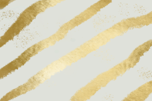 Print on Demand: Light Gray and Gold Striped Background Graphic Backgrounds By AM Digital Designs