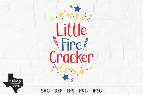 Download Free Little Fire Cracker Patriotic Design Graphic By SVG Cut Files