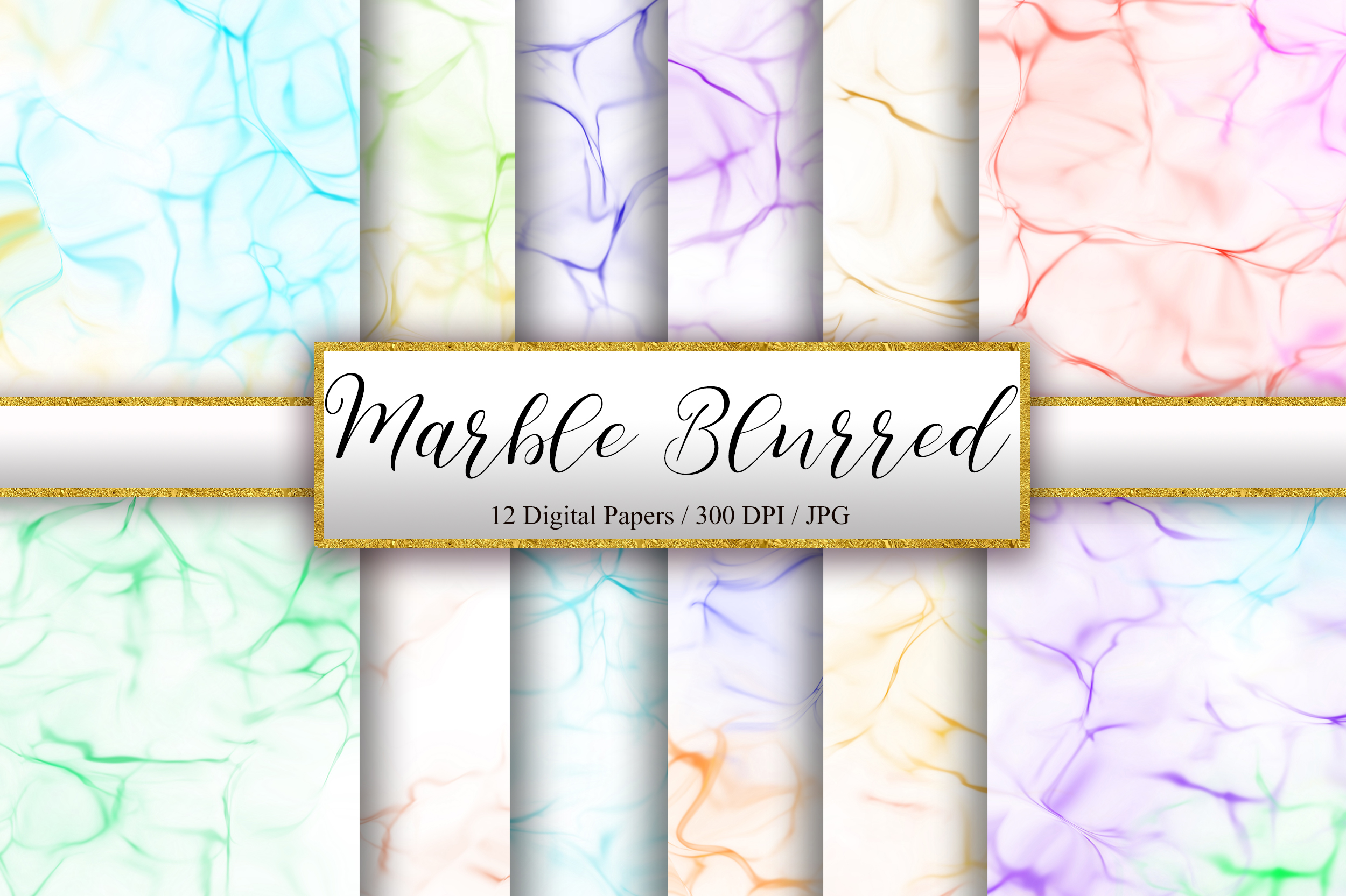 Marble Blurred Texture Background Graphic By Pinkpearly